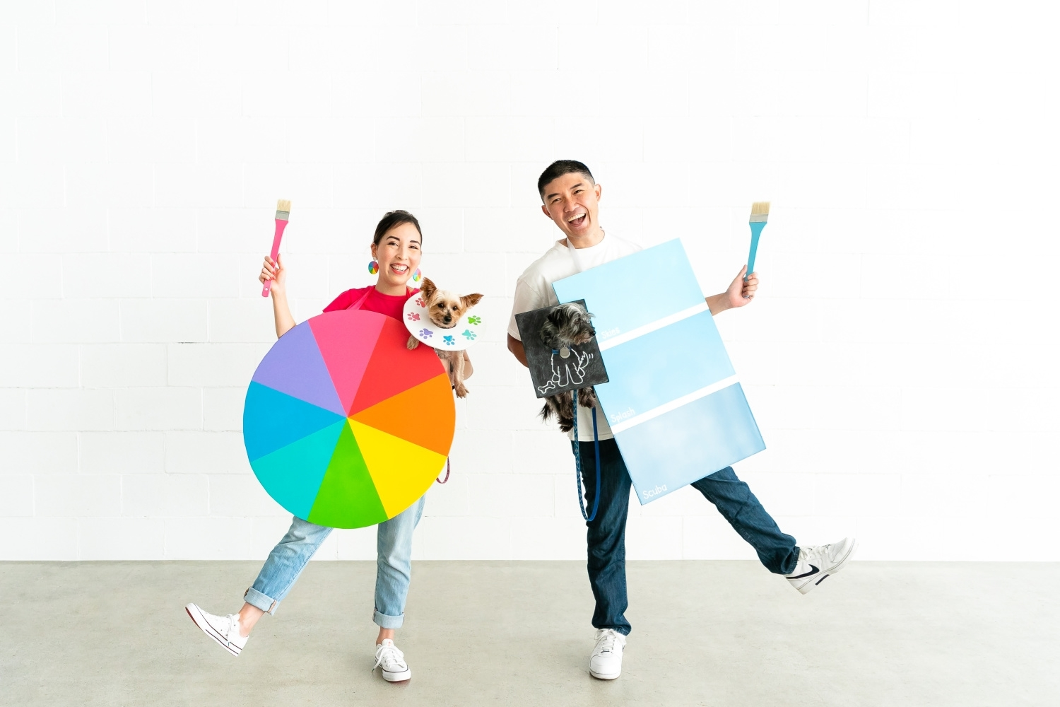 DIY Couples Halloween Costume with COLORSHOT