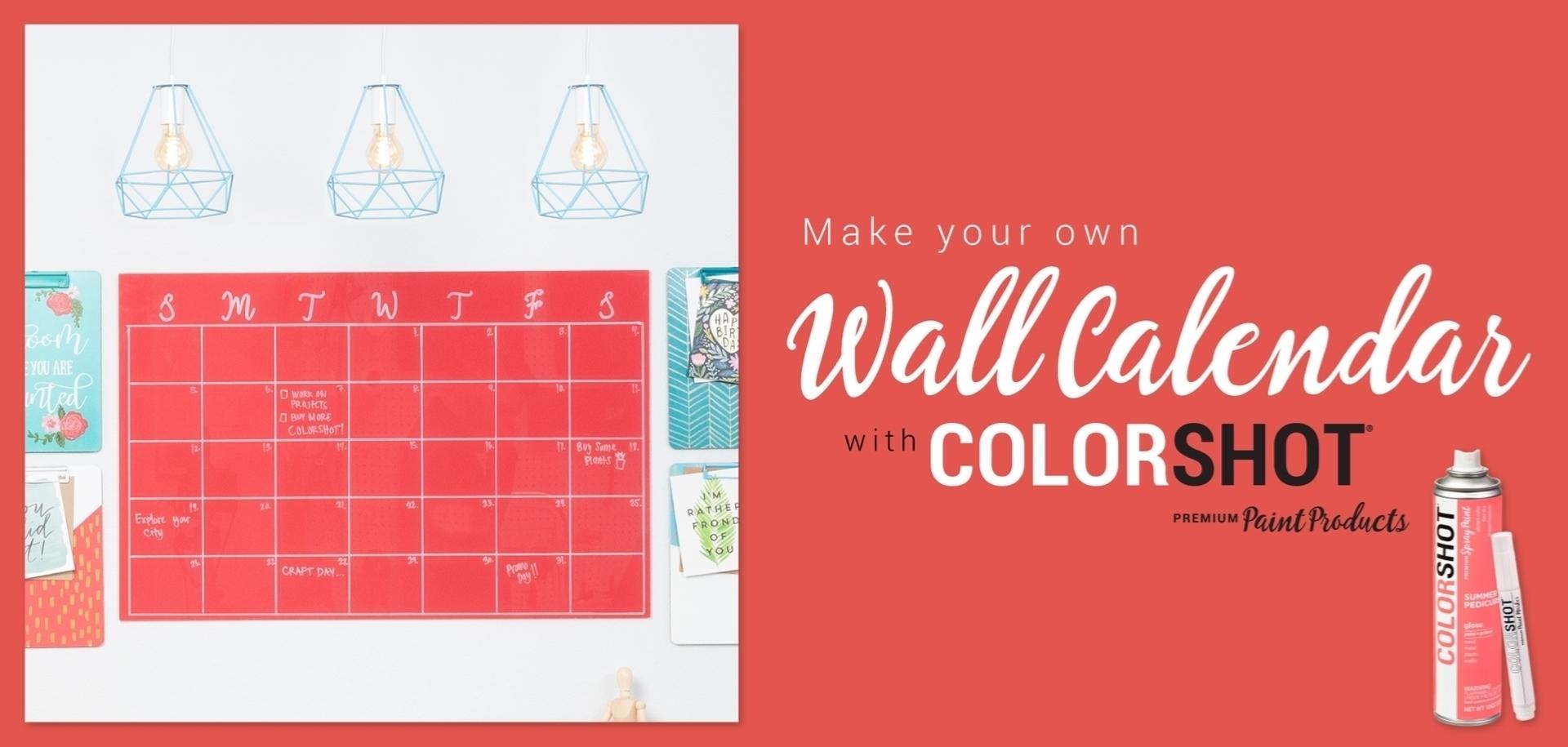 DIY Wall Calendar Project
