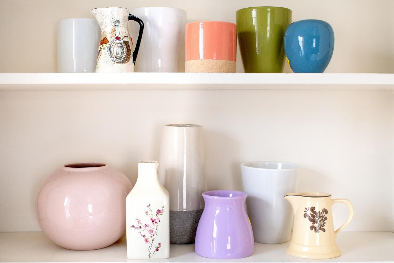 Before - ceramic vases