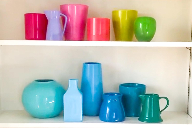 Rainbow Spring Crafts Display