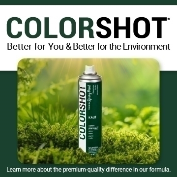 COLORSHOT Better for You, Better for the Environment