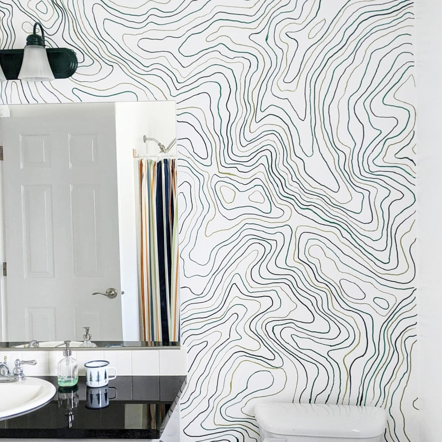 Trace pattern lines with Paint Markers