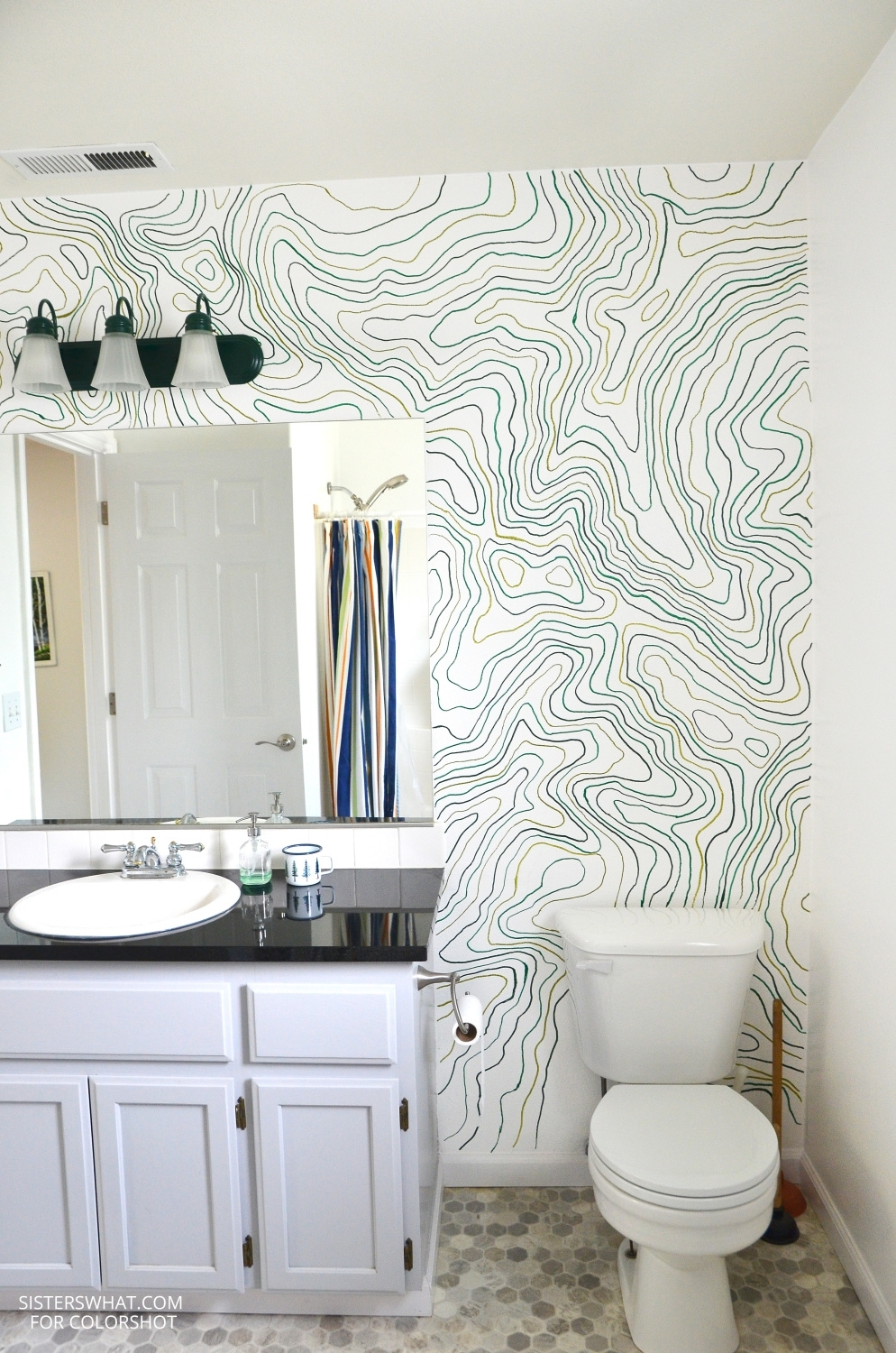 Topography Wall Mural
