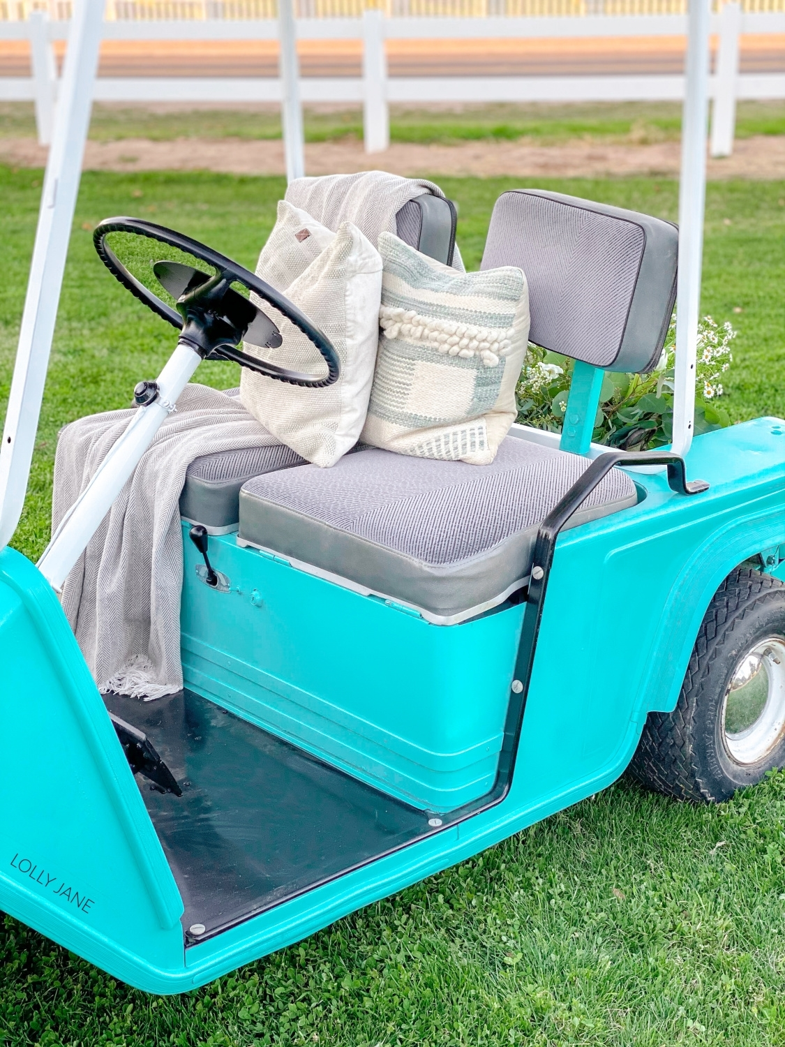 Golf Cart Makeover with COLORSHOT
