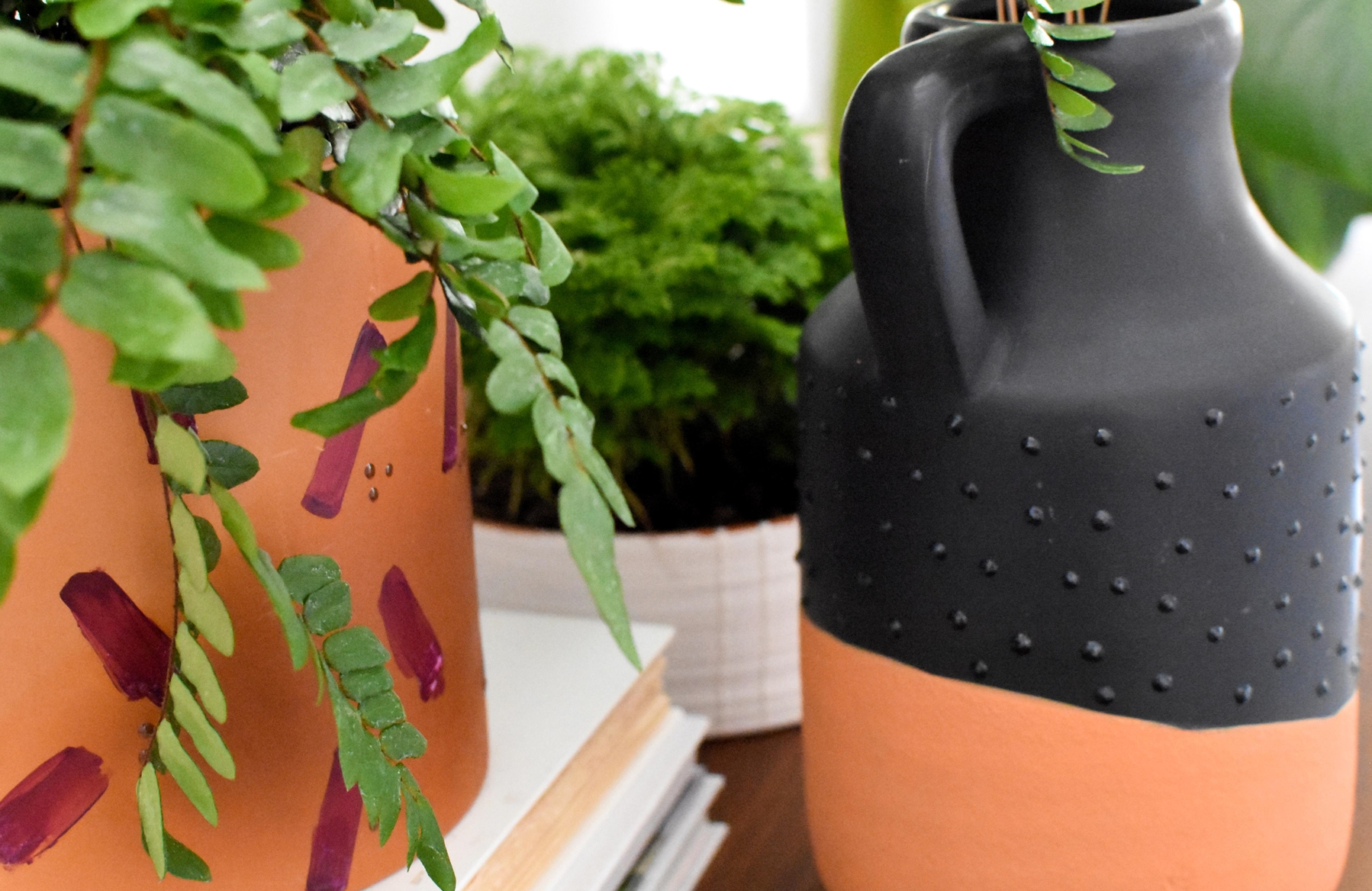 Easy Painting Tutorials for Flowerpots