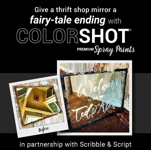Upcycle Mirror with ColorShot