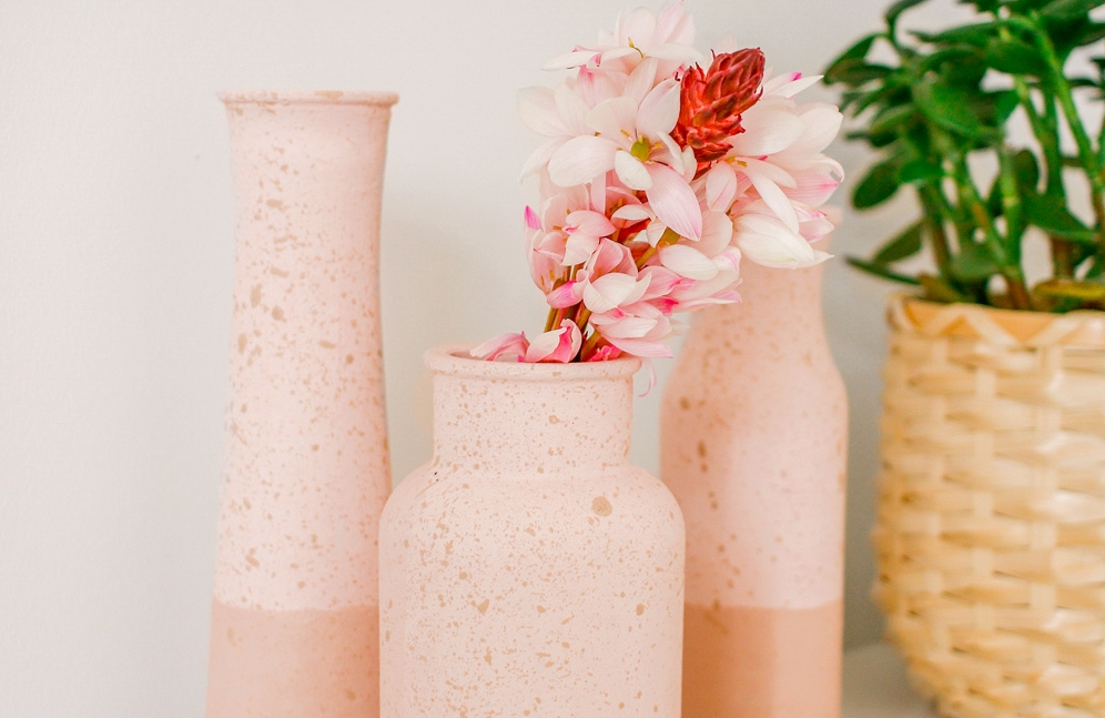 Faux Clay Vases