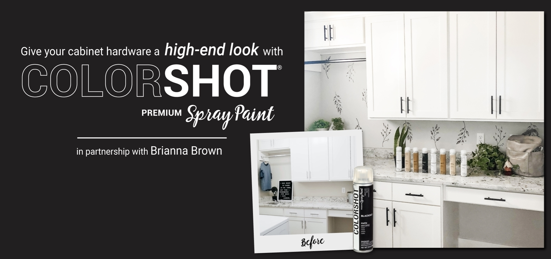 Spray Paint Cabinet Hardware for a High-End Look