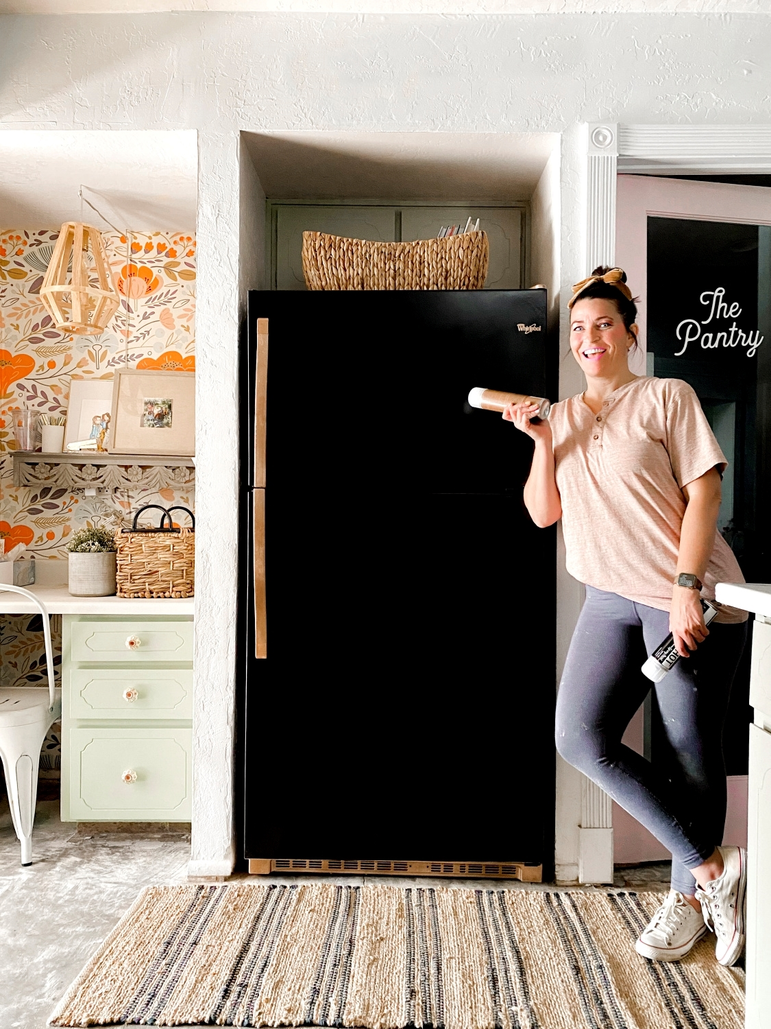 Make your fridge new again with spray paint