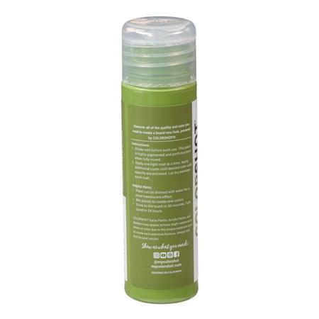 Picture of Premium Acrylic Paint Extra Guacamole Satin color