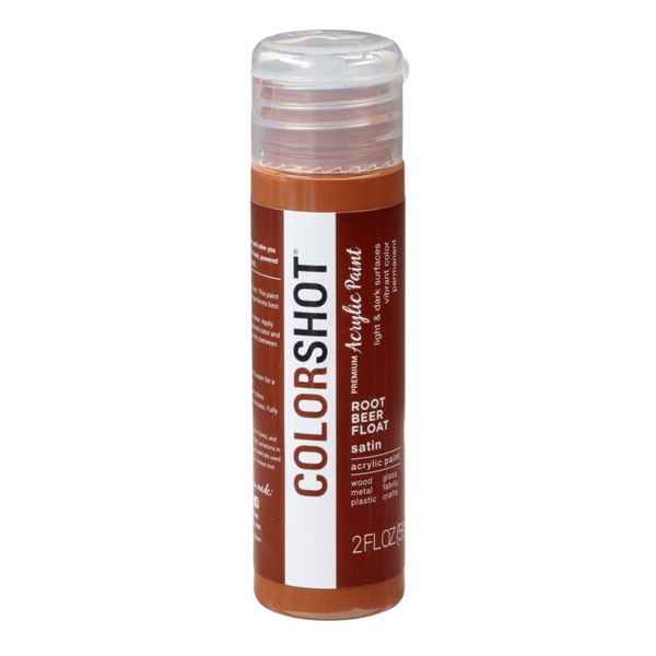 Picture of Premium Acrylic Paint Rootbeer Float Satin color