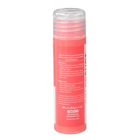 Picture of Premium Acrylic Paint Summer Pedicure Satin color