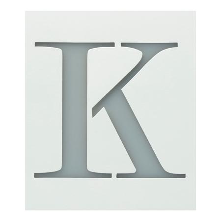 Picture of Premium Monogram Stencils Uppercase Block Alphabet 26 Pack color