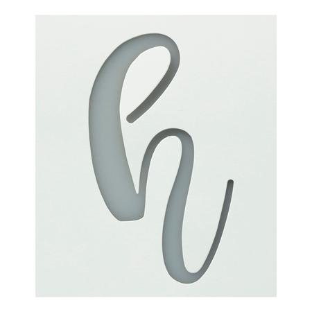 Picture of Premium Monogram Stencils Lowercase Cursive Alphabet 26 Pack color