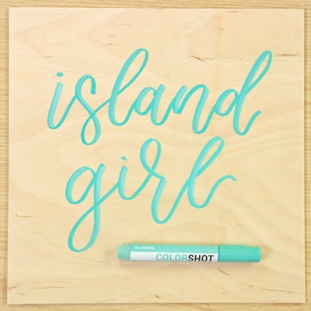 Picture of Premium Paint Marker Island Girl color